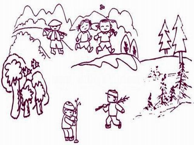 求图片:我们爱劳动简笔画图片