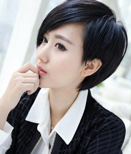 长脸,想换短发发型,什么样的适合?图片