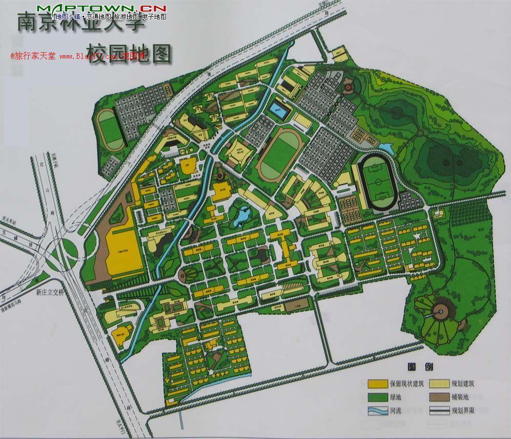 南京林业大学教五楼具体在什么地方?图片