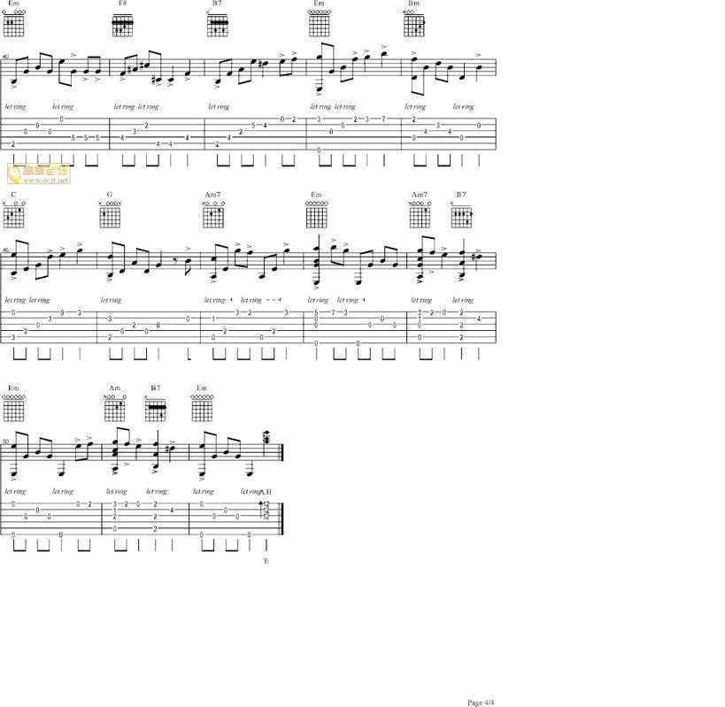 天空之城简单木吉他谱素材,天空之城吉他谱 简单,天空之城极简单吉图片