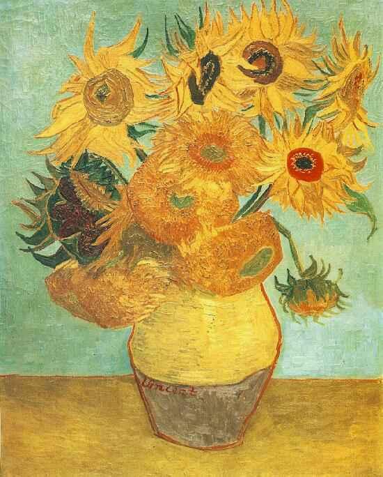 梵高向日葵那幅最好