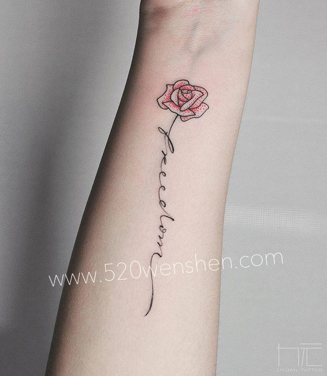 求好看的女生手部纹身小图案或者英文