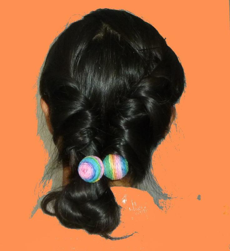 12岁女孩扎什么头发图片