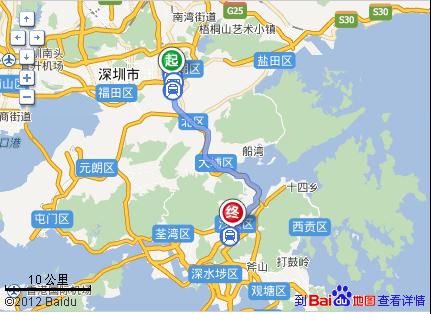 香港铜锣湾回深圳