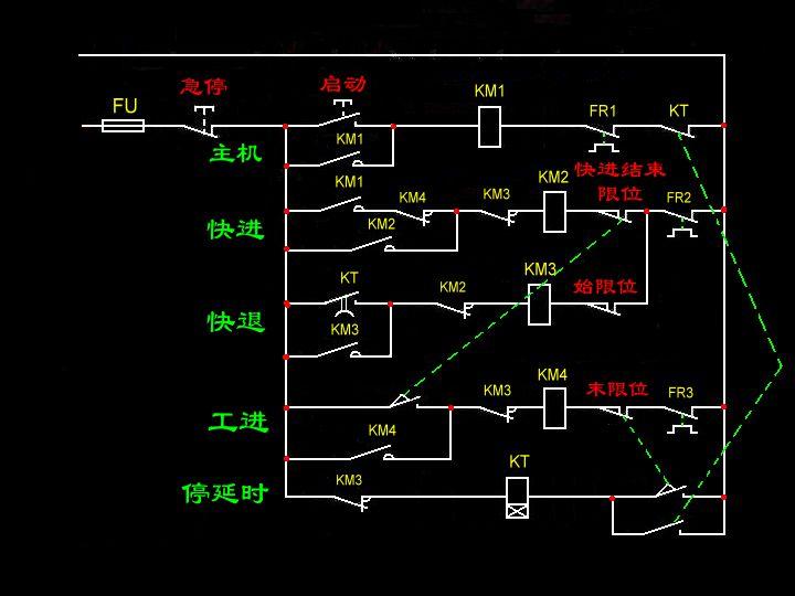 机床电气原理设计