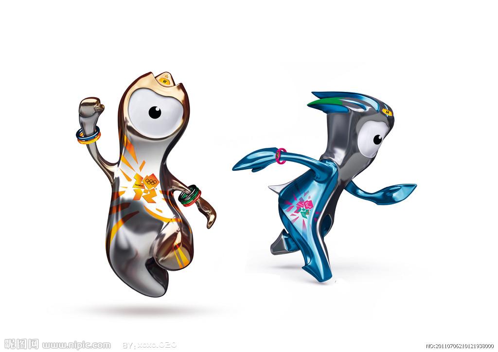 伦敦奥运会吉祥物图片