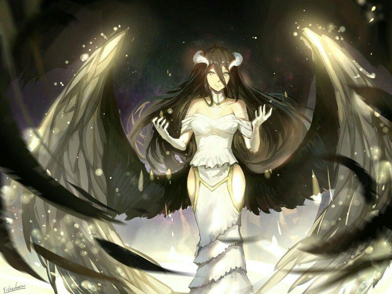 求动漫的天使或者恶魔的图片(最好是伤感类的),要有特效天使也可以图片