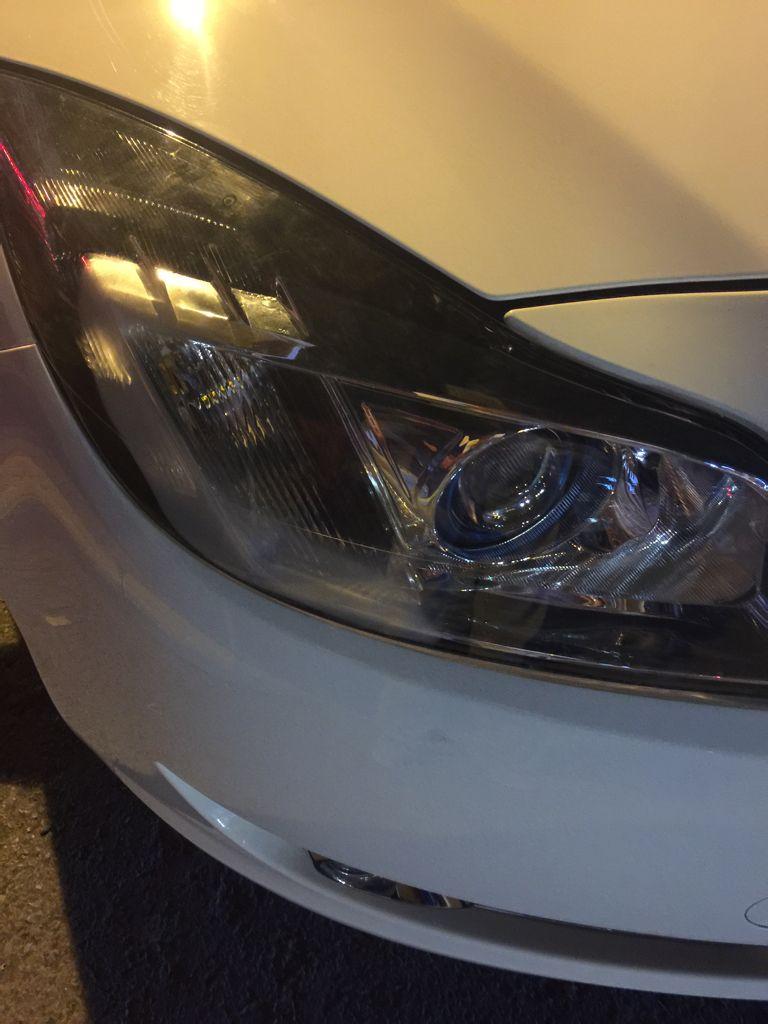 别克君威新换的大灯大灯,换完后晚上开探长起雾是福特撼路者加装总成360图片