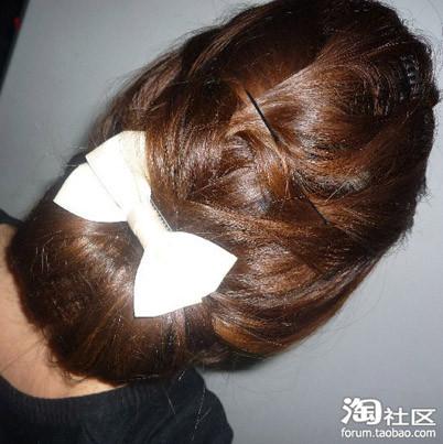 学生,国字脸,有刘海,怎么扎头发才好看图片