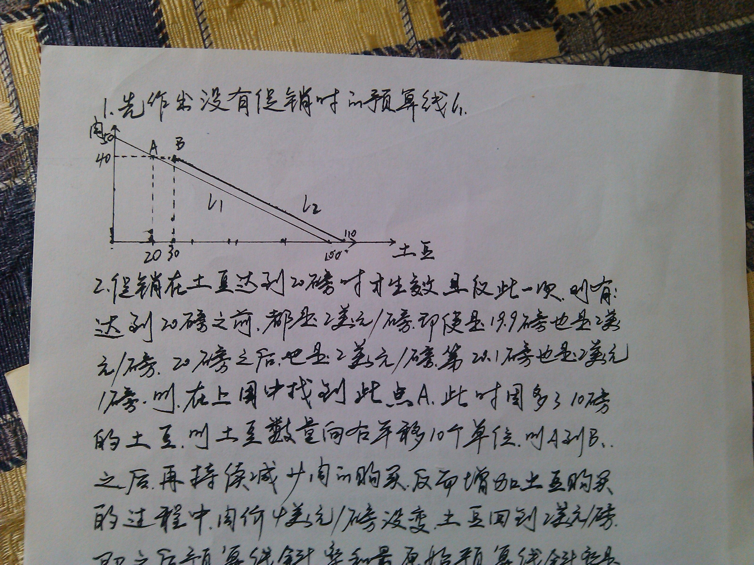 微观经济学的问题_百度知道图片