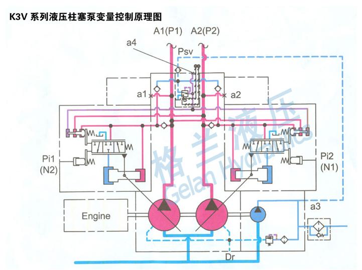 压滤机液压油泵结构图图片