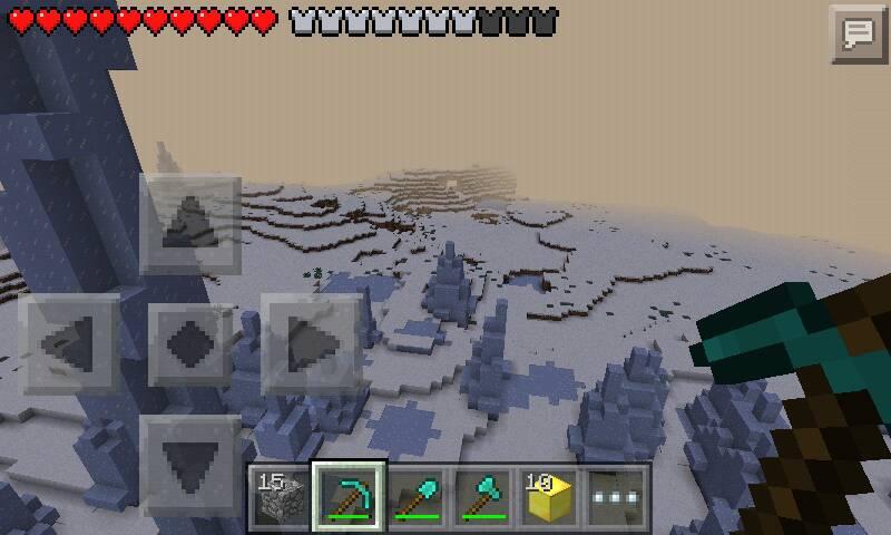 我的世界1.8.1水晶宫殿的设计图图片