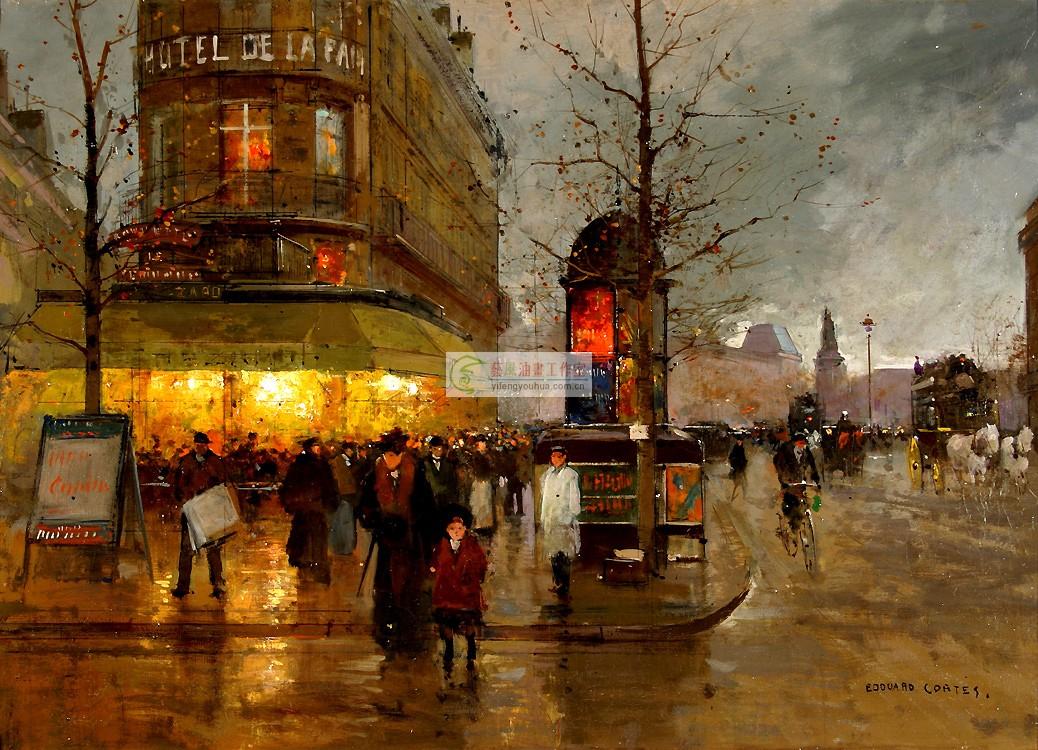 法国巴黎图片街景图片