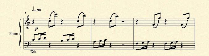 第一小节都在第二把位:开始先拉第二行的123,分别在小提琴g弦的234指图片