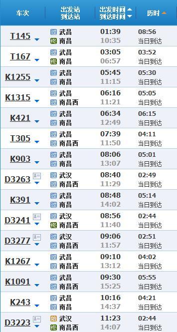 武汉到南昌的旅行攻略