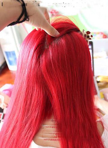 给头发漂颜色要多长时间图片