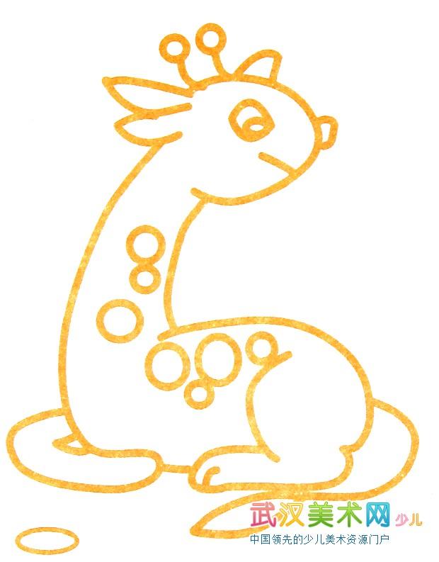 梅花鹿的颜色