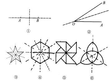 运用平移,旋转,轴对称,设计一个美丽的图案图片