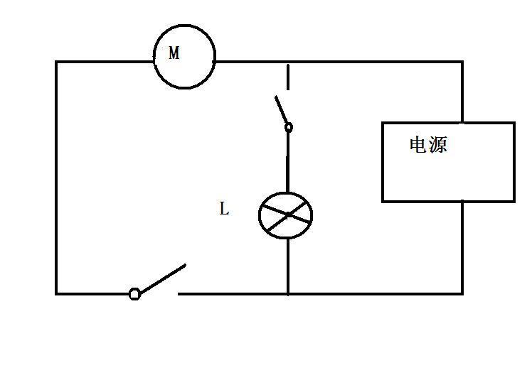 以下图案显示了电路并联连接法和串联联接法; 图片