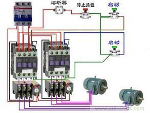 交流变直流接触器接线图图片