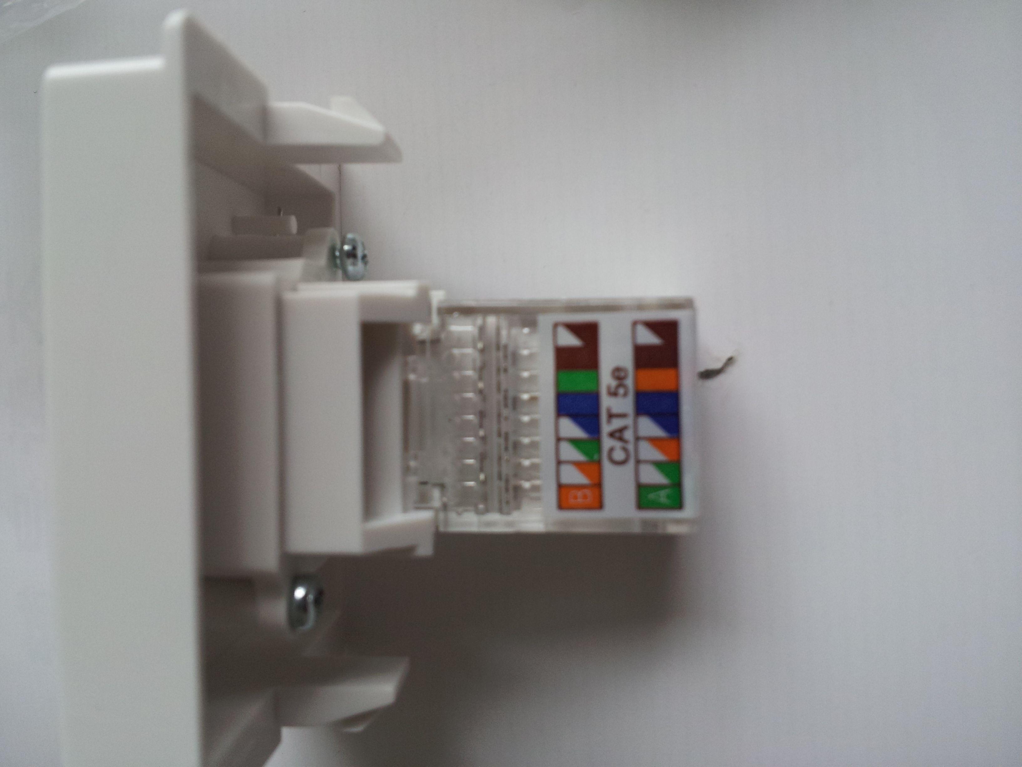 宽带接头_请问这种网线的接头怎么接啊,安装宽带的房间这个插头