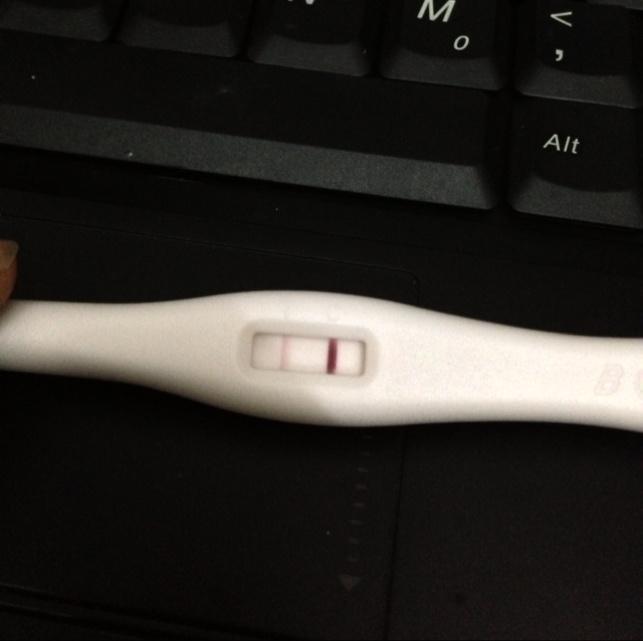 急!急!!验孕棒显示结果是怀孕吗?_百度宝宝知道