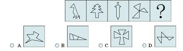变态的图形推理找答案图片