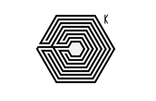 给我一张exo中毒logo