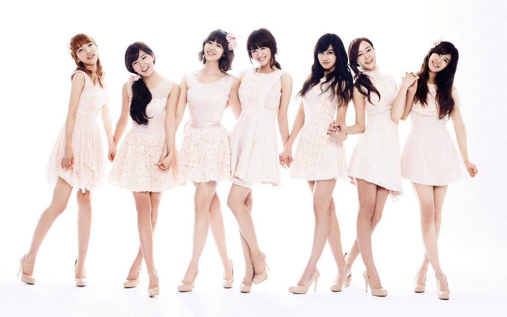 除fx之外一个短头发和五个长头发的韩国女子组合