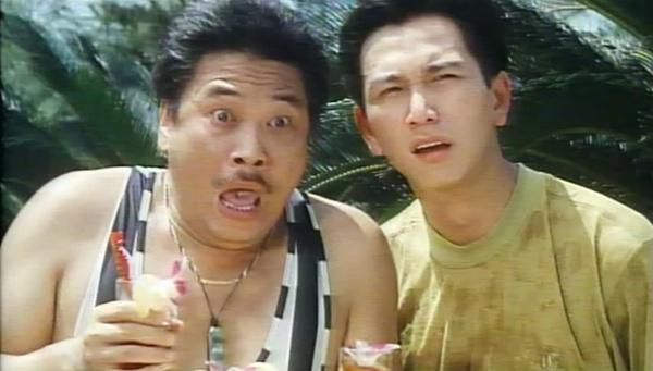 吴孟达演的搞笑电影用手摸美女屁屁被仙人掌扎手