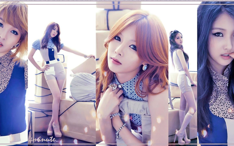 美女高清宽屏壁纸;;; 韩国组合少女时代电脑壁纸