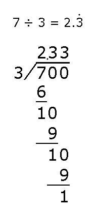 五年级循环小数算术题