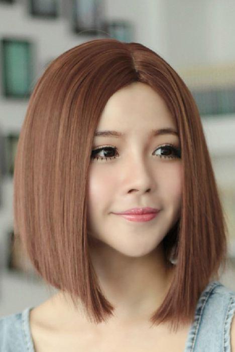 方形脸适合什么发型呢?图片