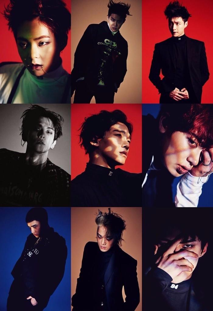 exo九人照片,越多越好啊!图片