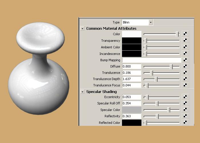 最后在mr里给个hdr环境贴图 如何制作maya陶瓷材质 急 高清图片