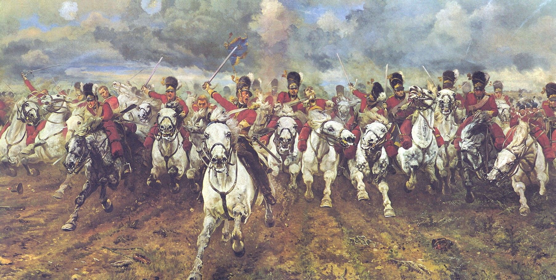 Most Famous Painting Of The Charge Of The Light Brigade