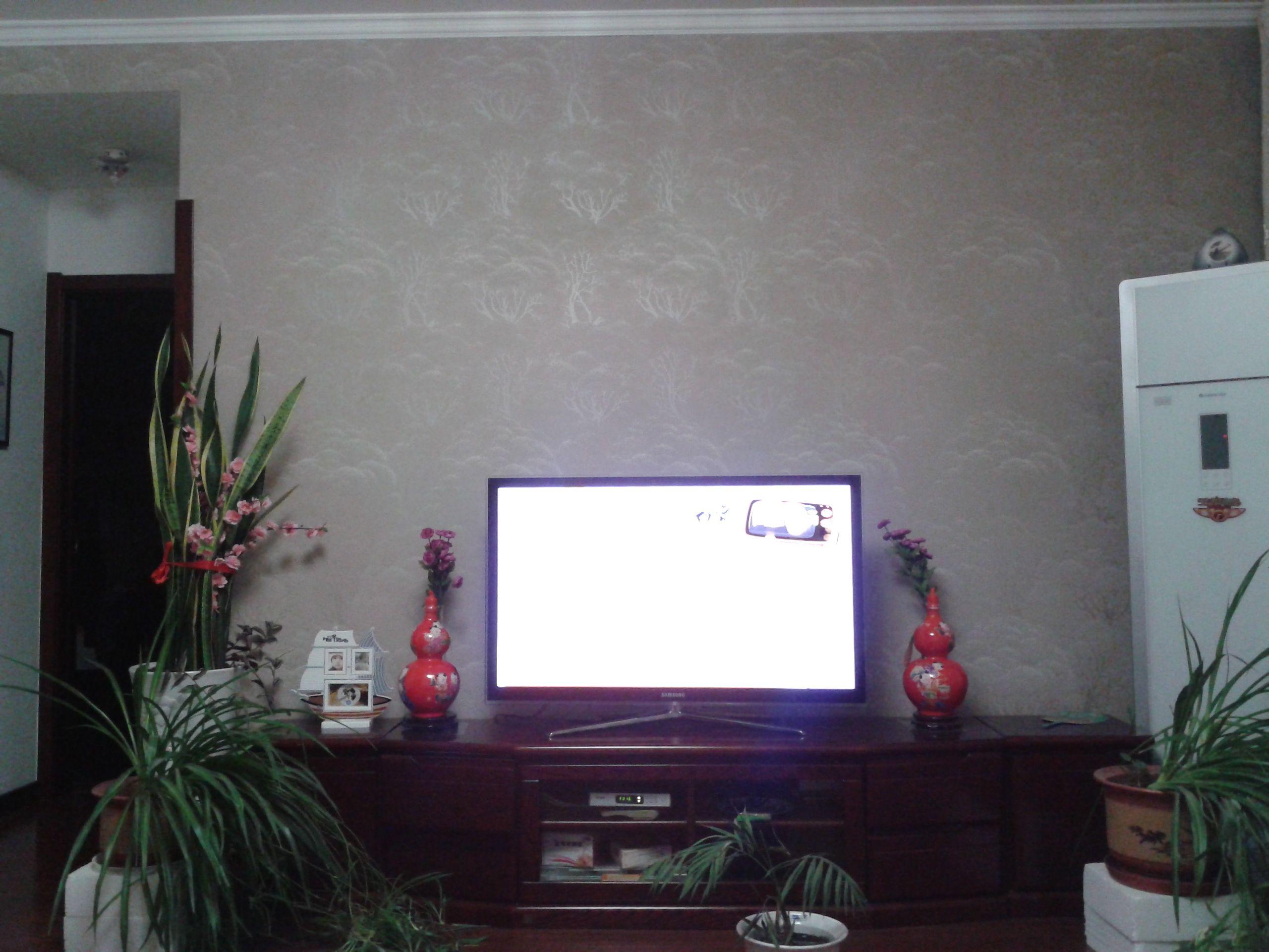 总觉得电视墙缺点什么高清图片