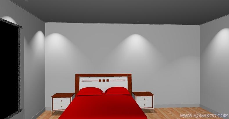 我家我设计 设计的家装效果图,出来的图怎么会有灯光的效果?图片