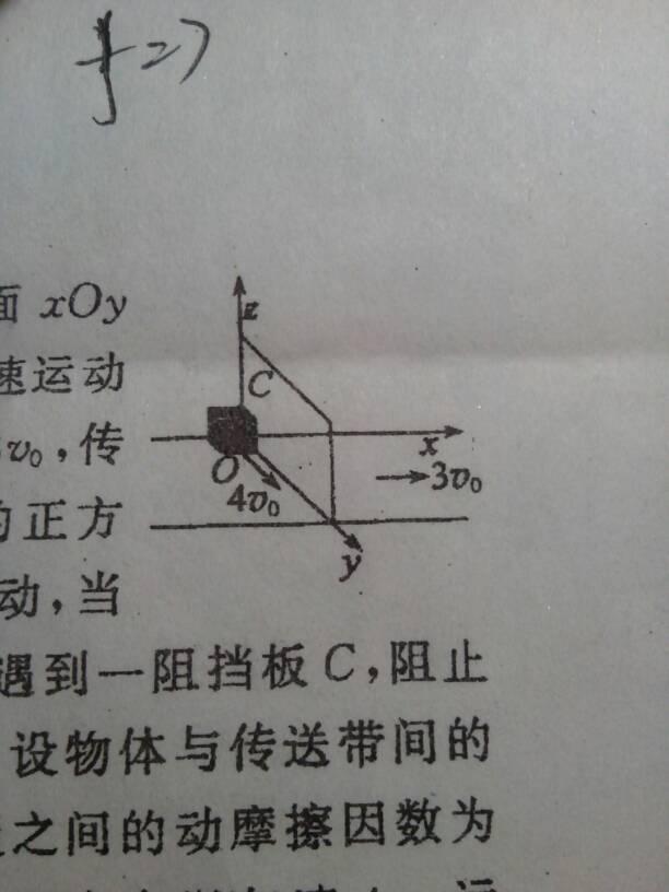 如图,在方向地面xoy上有一沿x正水平做匀速运动的传送裸女的跳伞的动态图图片
