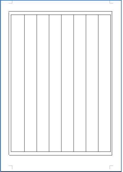 自己画书法格子,还用8k的纸,我第一次画,不知道格式图片
