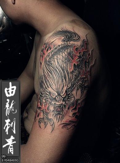 这3个纹身图案做下来分别要多少钱?图片