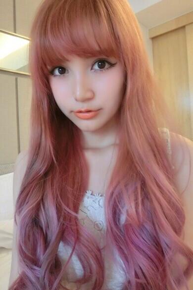 今年流行什么颜色头发图片