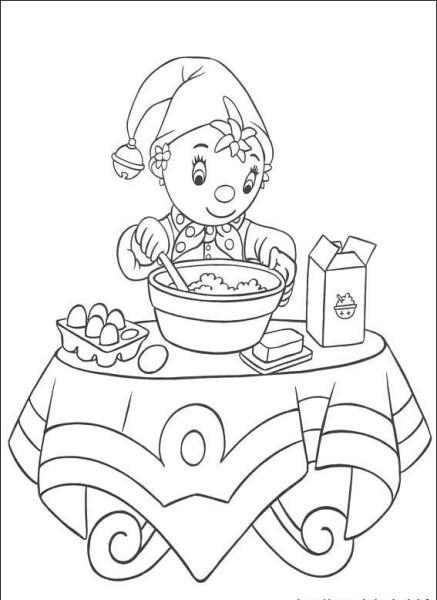怎么画一个人桌子上吃饭 简笔画图片