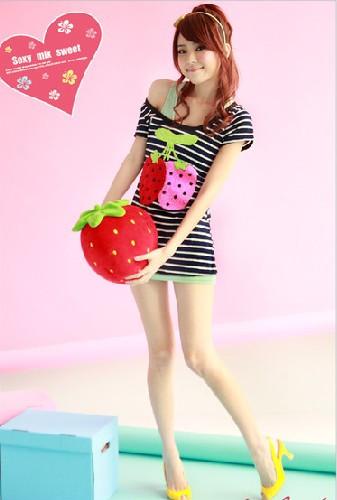 想要一张女生拿着草莓的头像可爱点的