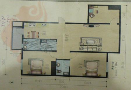 长方形客厅餐厅厨房该如何设计?图片