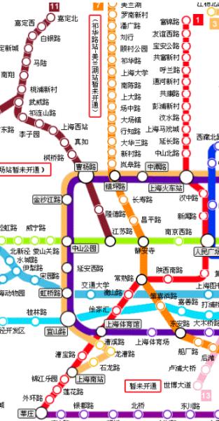 上海地铁4号线全线路图图片