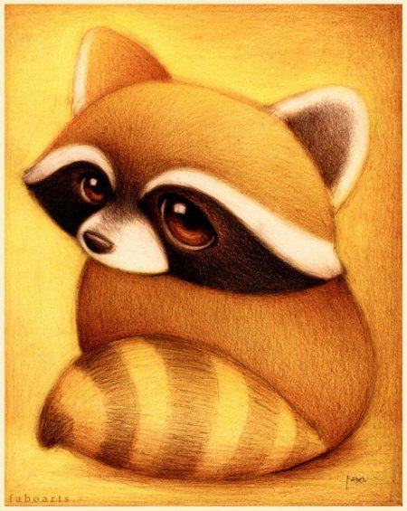 小熊猫怎么画图片