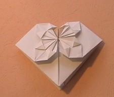 用一百元的怎么折心形?图片