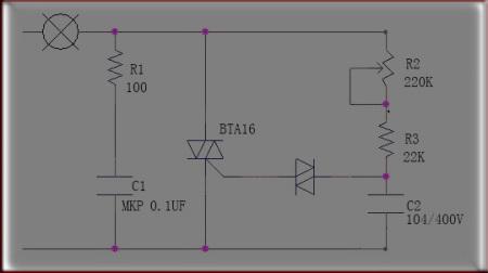 220v交流电经二极管vd3~vd6整流后变成脉动直流电给   求整流桥交图片