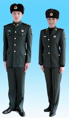 07式士兵冬常服是什么样的图片